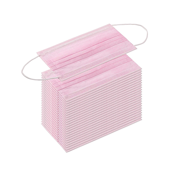 Promotional High Quality Disposable Protective 1 Ply 2 Ply Paper Earloop Face Masks