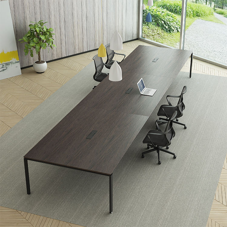 Foshan Manufacturers High Quality 20 seats modular White Conference Meeting Table