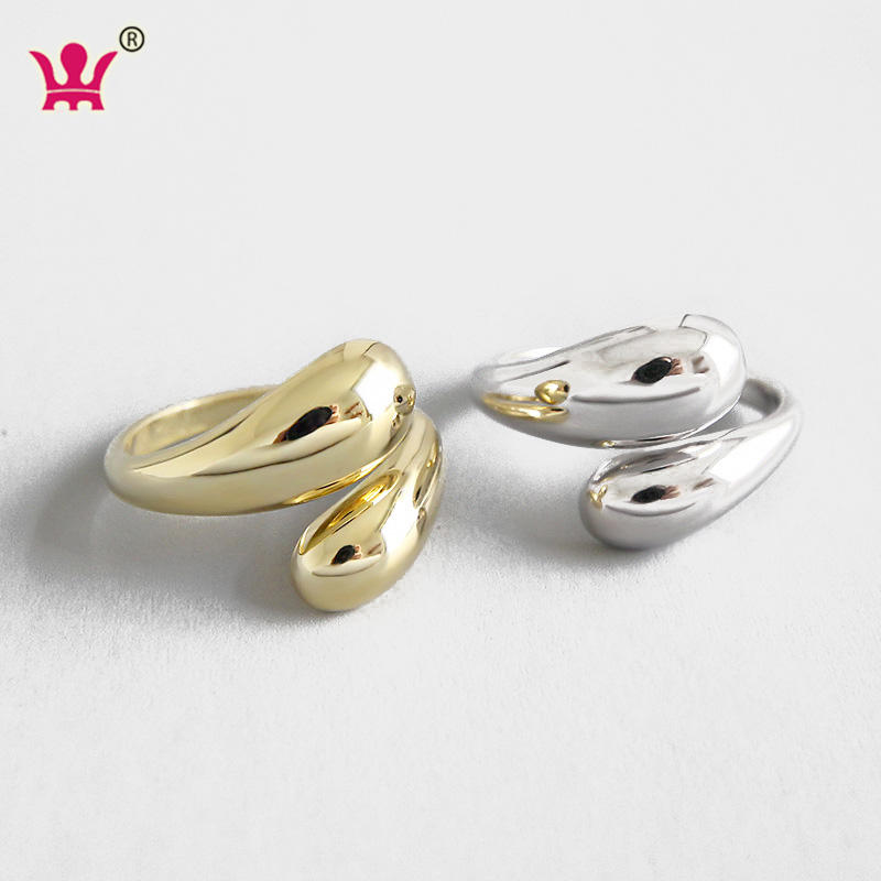 New Arrival High Quality Wholesale 925 Sterling Silver Main Material Jewelry S925 Pure Silver Rings