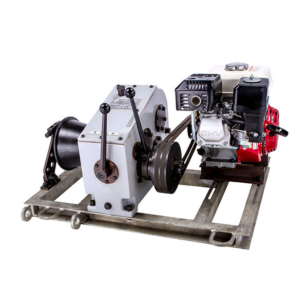 Light Weight 3T/5T Small Hydraulic Diesel Engine Powered Winch Off Road