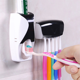 wall mount Automatic toothpaste holder squeezer hanger Bathroom things Accessories wallmount Toothpaste Dispenser