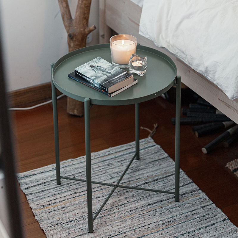 Living Room Furniture Metal Small Coffee Table Side Table