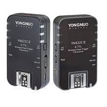 YONGNUO all series YN622C II high-speed sync HSS 1/8000s ETTL camera wireless flash trigger for Canon camera
