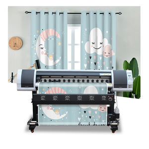 1.6m Digital Flex Machine D'impression Directe À Tissu DTG Rideau Imprimante Sublimation Imprimante Mimaki