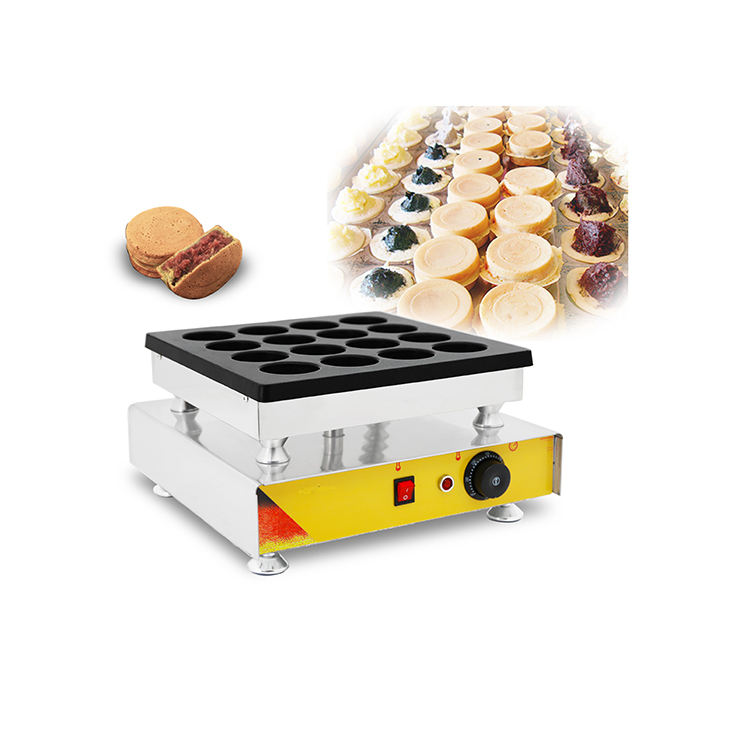12 Holes Cake Waffle Machine Red Bean Cake Maker Machine