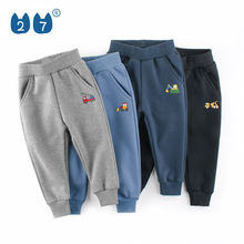 Modern Custom Kids Trousers Breathable Sports Casual Boys Fleece Long Pants