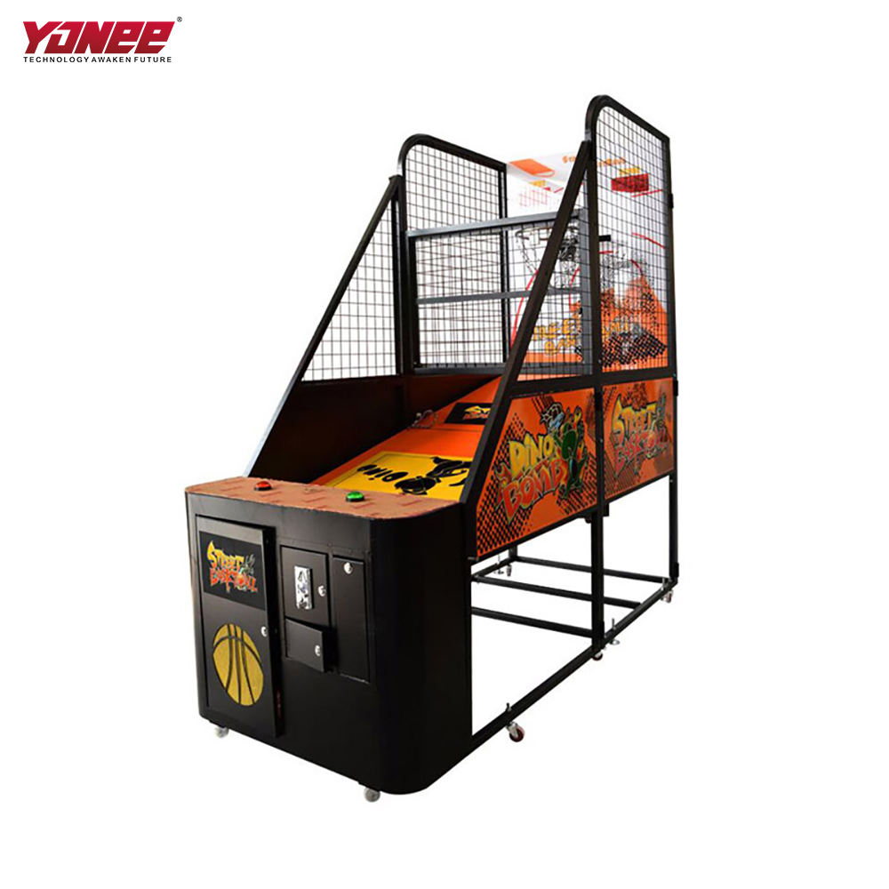 Yonee coin operated Street basketball arcade game machine