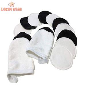 Yiwu Fashion Trend Makeup Remover Pads Soft Breathable Bamboo Cotton Rounds Pads