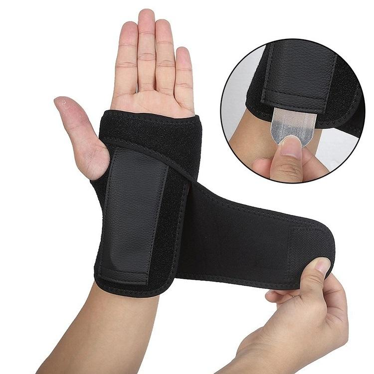 Orthopedic Medical aluminum splint wrist brace hot sale hand wrist support