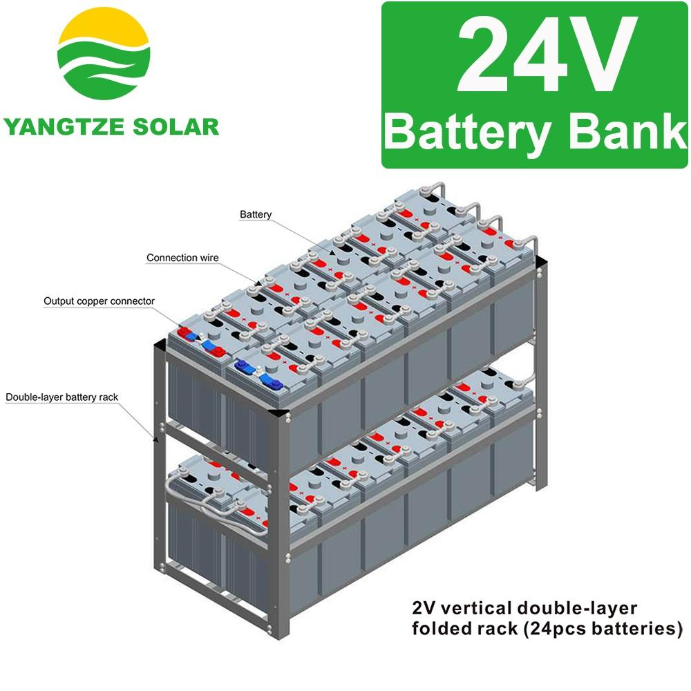 Free shipping 24v 1000ah solar lead acid battery