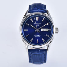 Small moq Japan automatic movement week date sapphire glass ready for shipping mens wrist watch