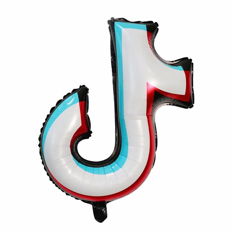 The new TIKTOK aluminum balloon Party decorated aluminum film balloon wholesale