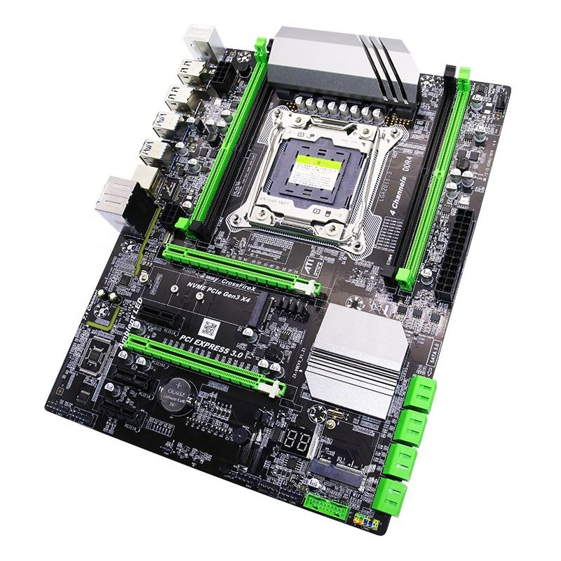 high performance gaming atx motherboard x99 spuuort intel core i7 Xeon 4 channels maximum memory 128gb ddr4 ram for gaming