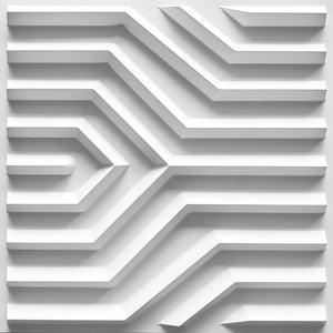 Fashion design 3d decorative board interior wall panelling pvc white 3d wall panels