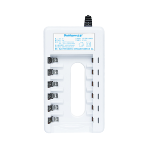 Caricabatterie intelligente Veloce 6 slot aaa batteria ricaricabile aa battery Charger con cavo USB