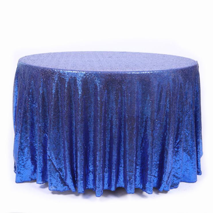 Round tablecloth Sequin Glitter Wedding Tablecloth