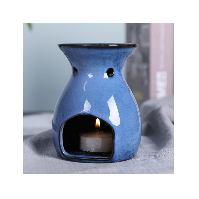 Ceramic Tealight Candle Holder Essential Oil Incense Aroma Diffuser Furnace aroma essential oil burner Wax melt Burner