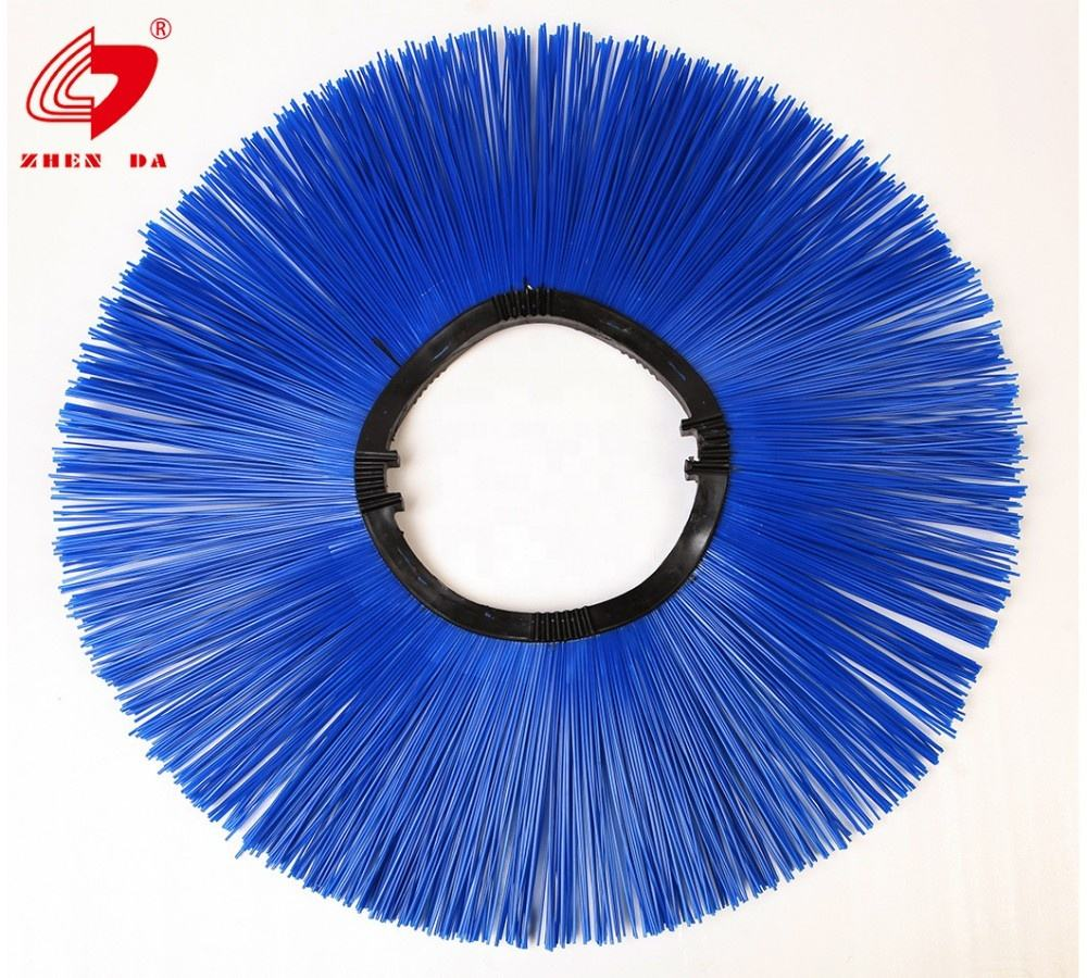 PP Road sweeper zig zag brushes for cleaning equipment