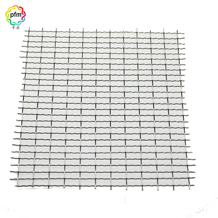 Wholesale stainless steel galvanized steel woven crimped wire mesh net