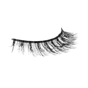 Private label flat synthetic hair 3 pair bulk of mink lashes