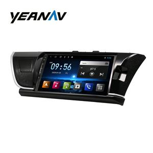 Auto Stereo Voor Corolla Toyota 2014-2016 Touch Screen Gps Navigatie Android 10 Inch Multimedia Auto Video Player Bluetooth