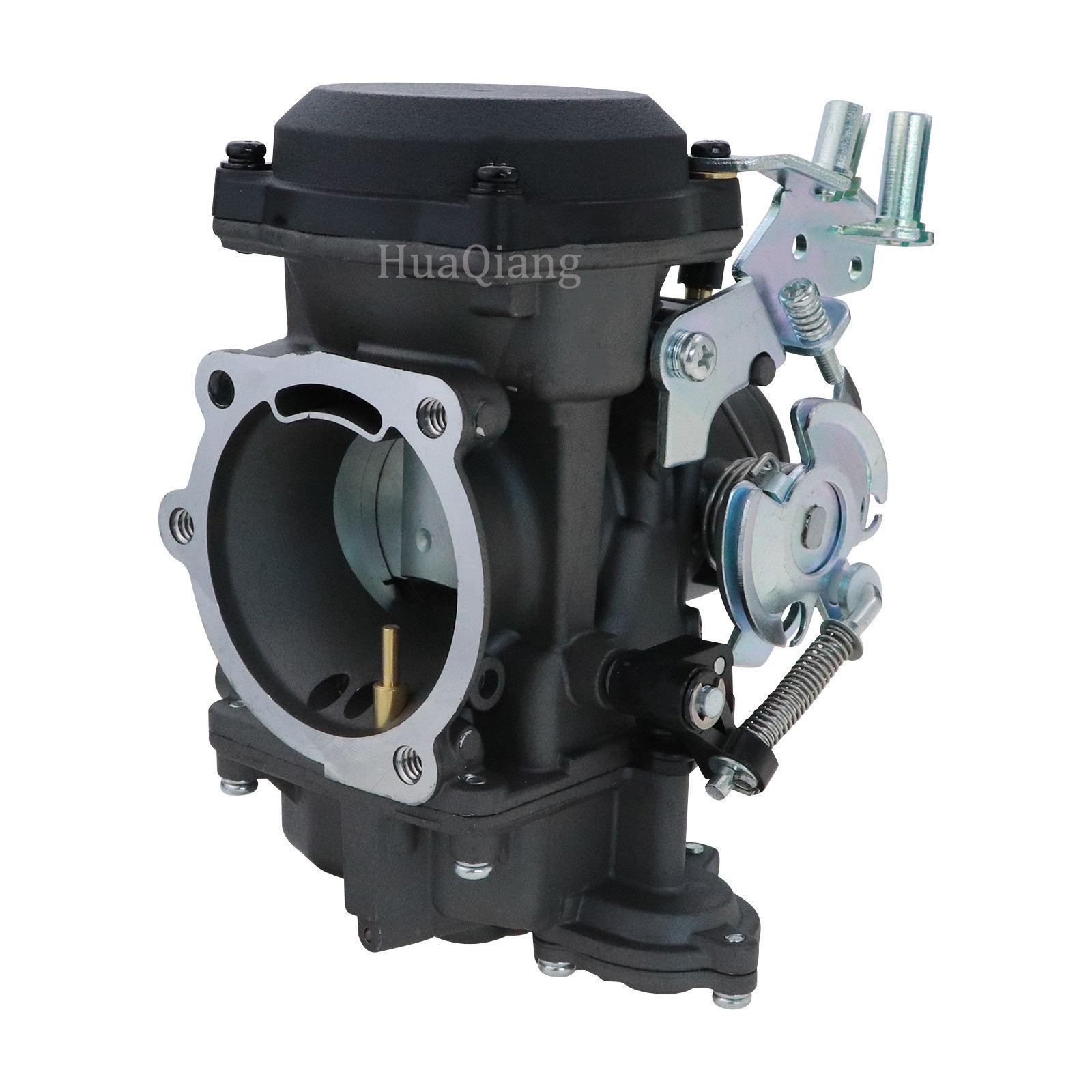 Negro 40mm <span class=keywords><strong>CV</strong></span> CV40 carburador Asamblea w/o accesorios 88-17 gira Softail FXD FXR