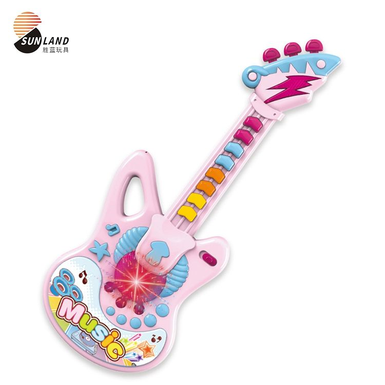 Air Electric Miniature Child Electronic Kid Musical Guitar Toy, Toy Guitar For Kid
