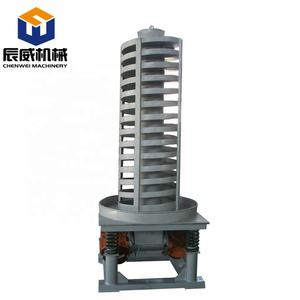 Helix screw auger vertical vibrator up lift elevator