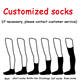 Socks Sock Elite Black Mens Socks Oem Custom Socks Design Own Logo Men Crew Socks Private Your Label Bamboo Cotton Black Man Sport Sock Elite