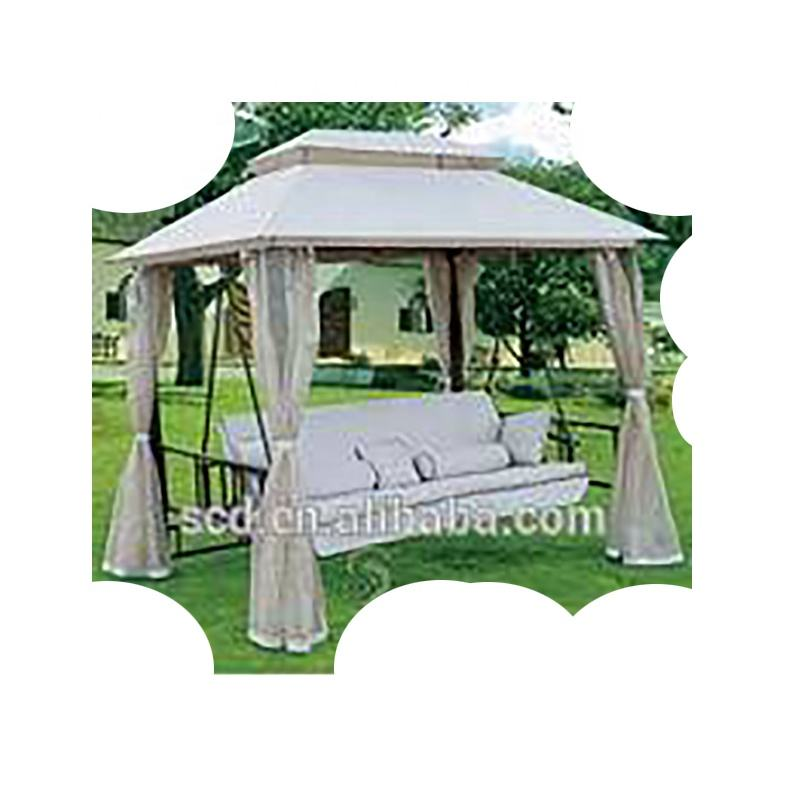 Comfortable outdoor Canopy Hanging With Sofa Seat Swing Chair Bed