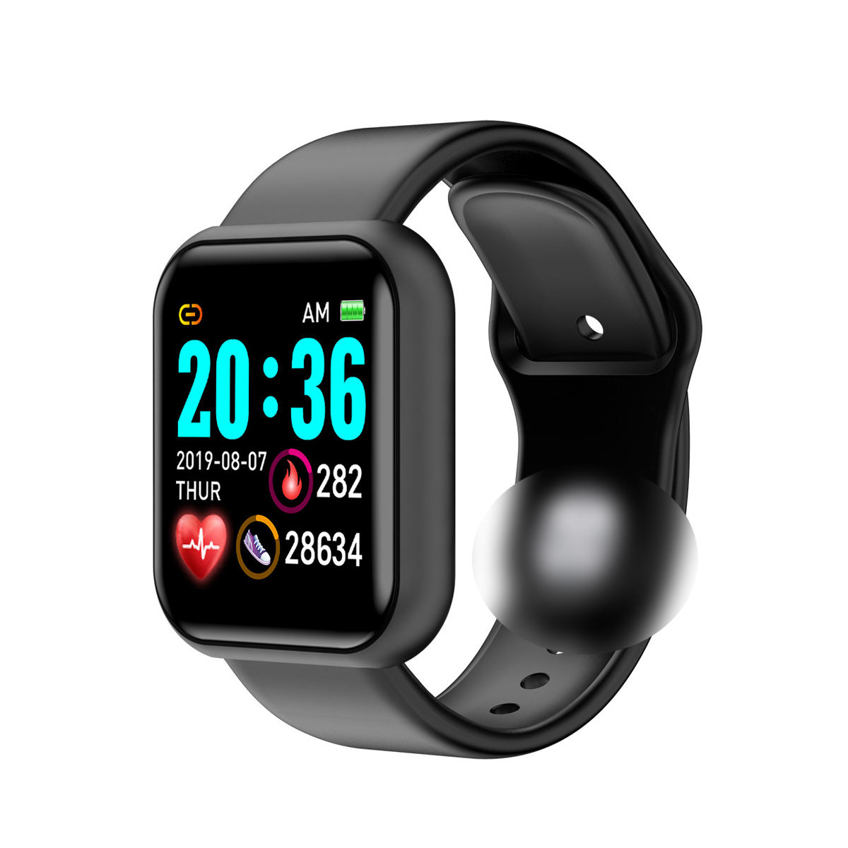 2020 Sport Smartwatch Women Blood Pressure Waterproof Smart Watch Men Heart Rate Fitness Tracker Watches For Android IOS L18