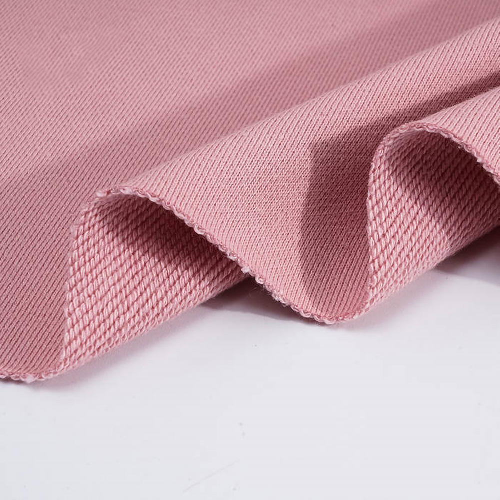 Wholesale China 100% cotton 500gsm heavyweight sweatshirt fabric