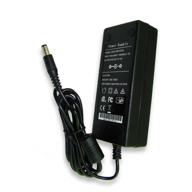 36-60W 19V AC DC desktop universele power adapter voor cctv en gitaar en dvd en laptop