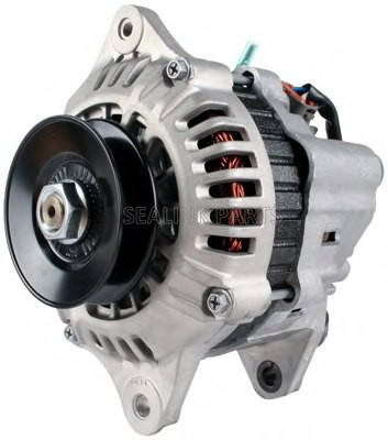 12V 55A Truck Alternator For Loader Yanmar 3TNV70 101211-2950 101211-2951 119626-77210 101211-2951 05740814 AM809126 TY25242 LVA