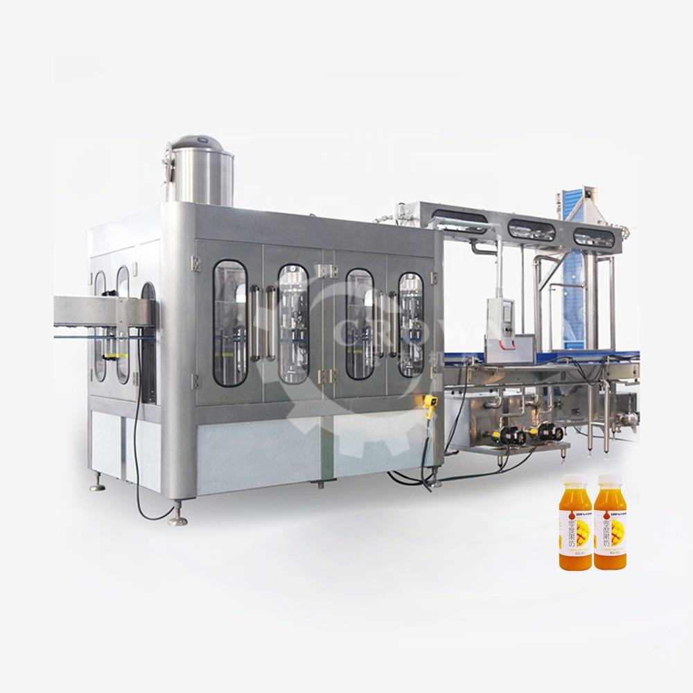 iso ce certificate juce hot filling machine / hot filling machine to make fruit juice / hot filling production line