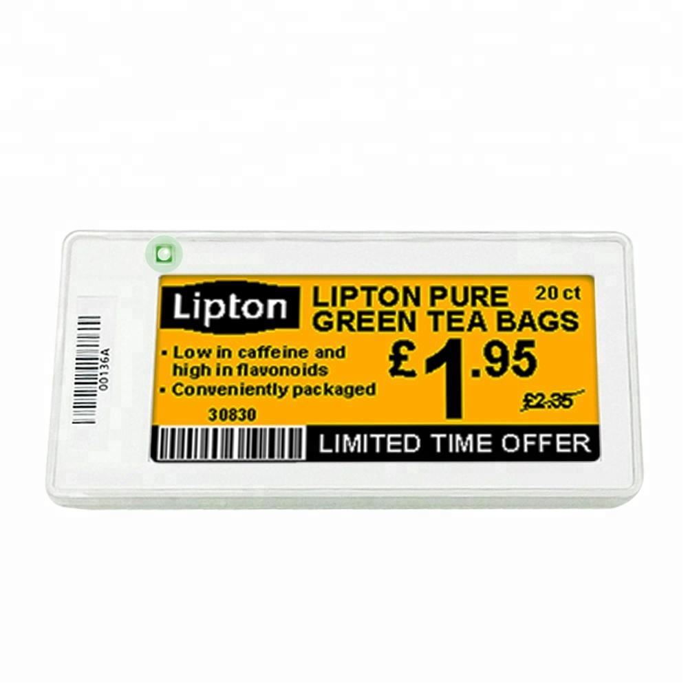 Electronic shelf label ESL electronic price tags 2.9 inch