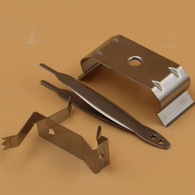 Experienced factory fabrication metal parts custom brace clips sheet metal u spring clips