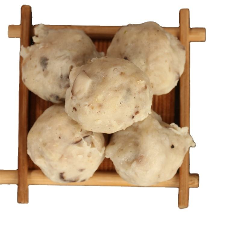 Wholesale popular frozen mushroom with chicken surimi fish ball
