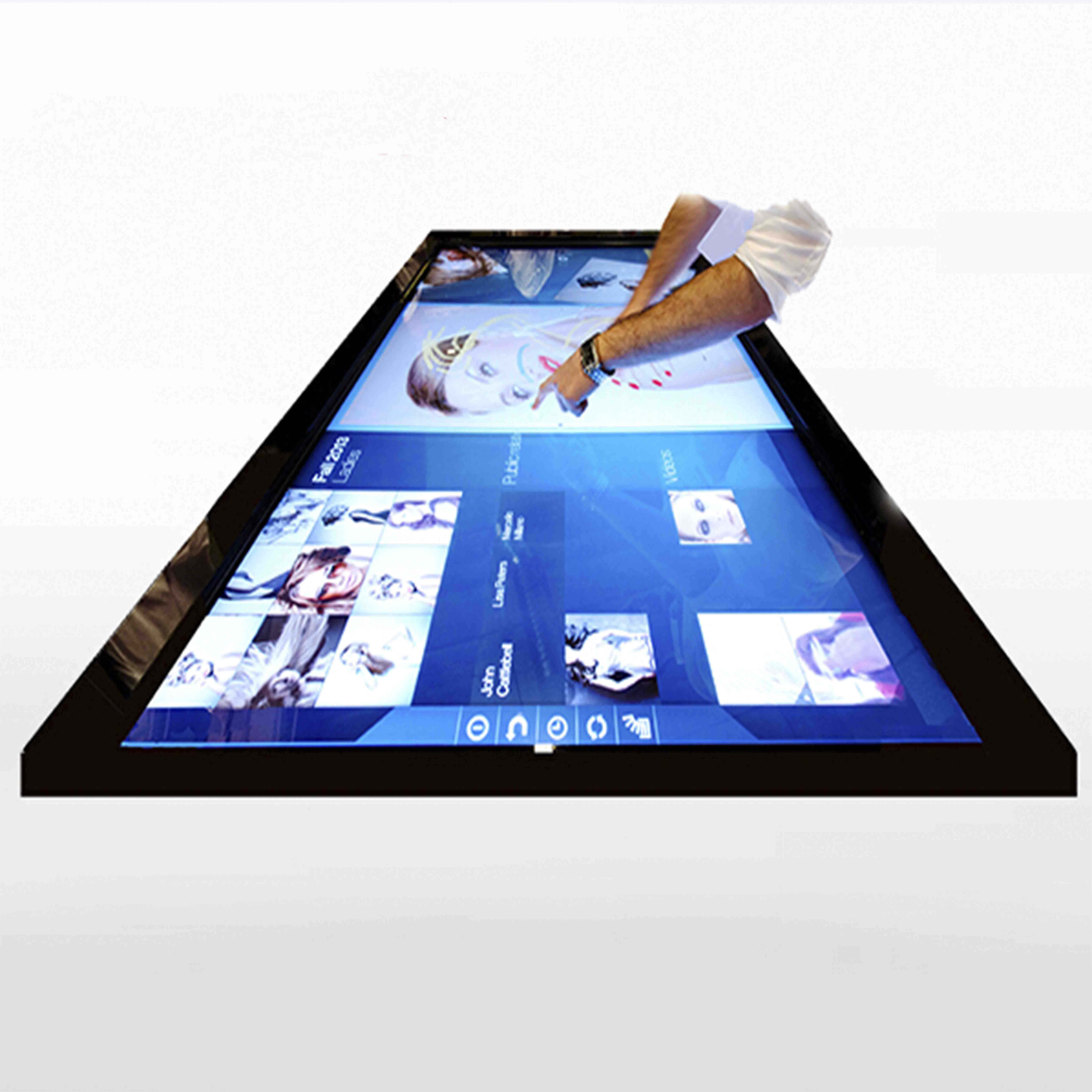 65 inch multi-touch screen infrarood sensor, multi touch screen smart tv, touch frame