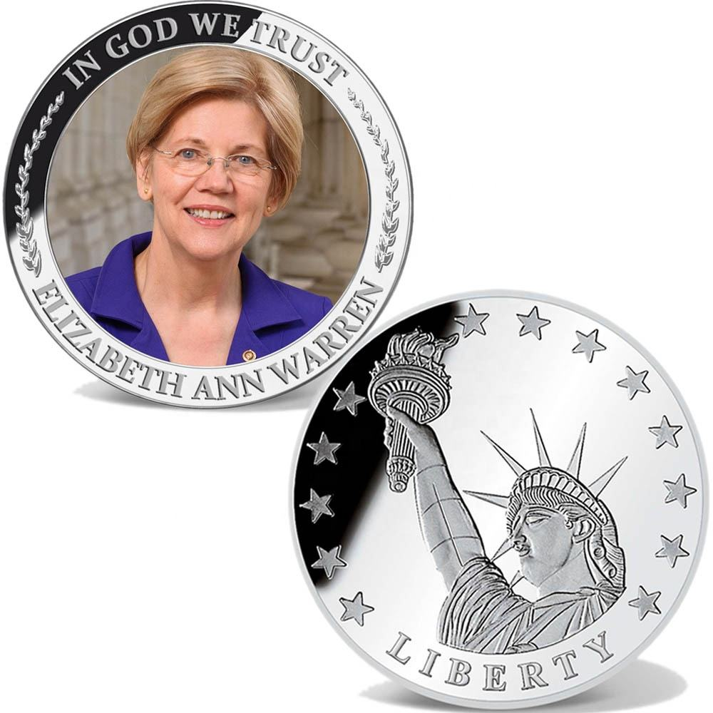 2020 America Election Candidate Elizabeth Warren Collection Coin