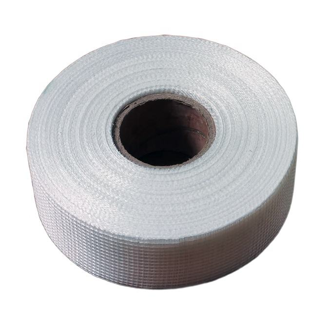 Double sided adhesive Fibreglass Mesh Tape For Wall Covering