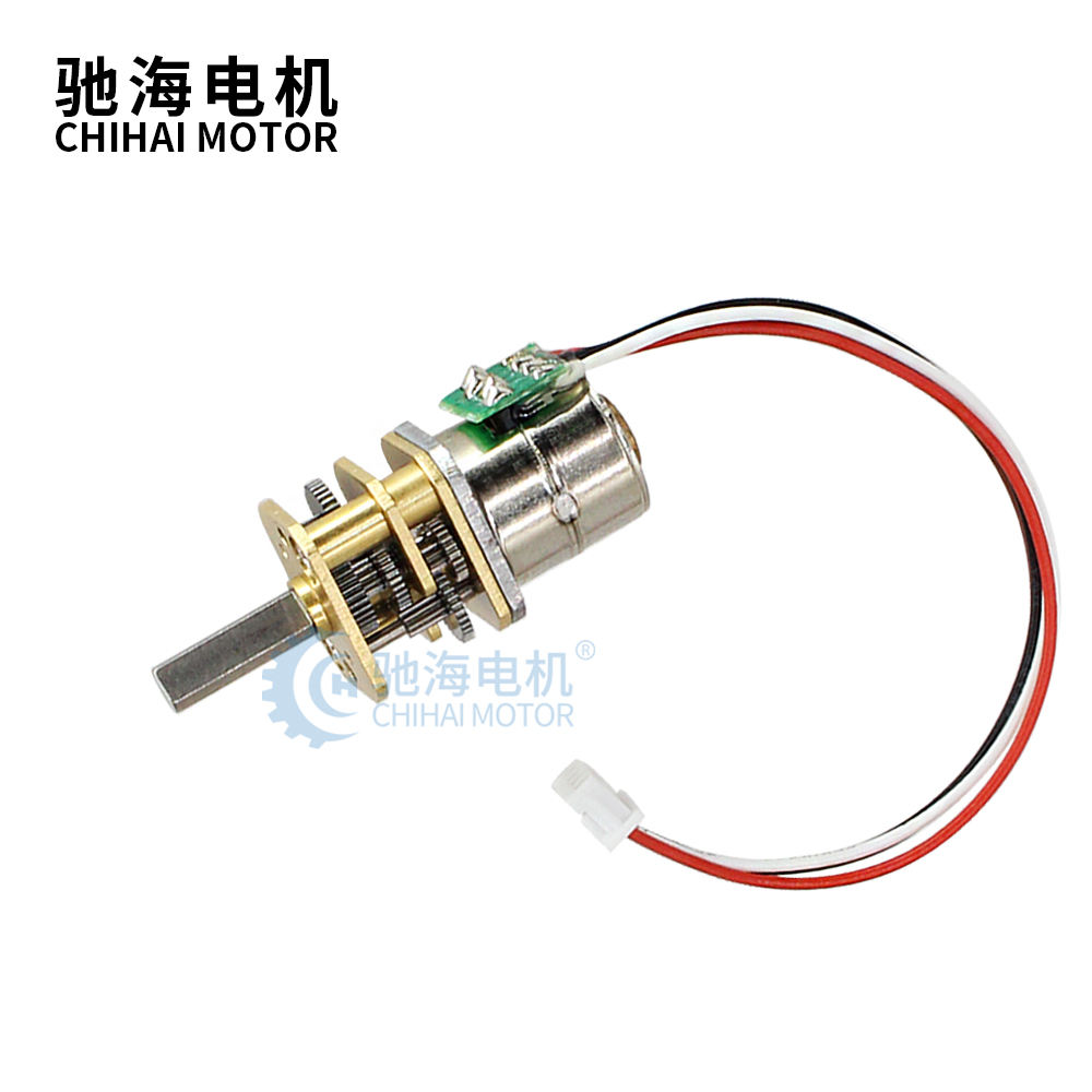 ChiHai Motor CHS-GM12-10BY 10mm 2 phase 4 wire mini dc Stepper gear motor for ip camera 39 Ohm DC 5.0V for medical equipment