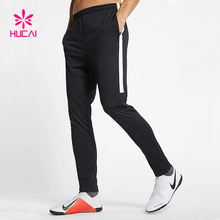 New Design Striped Jogger Pants Narrow Bottom Mens Sports Trousers