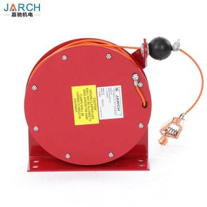 STATIC Grounding 15M 30M Retractable hose Reel สแตนเลสลวดห่อ