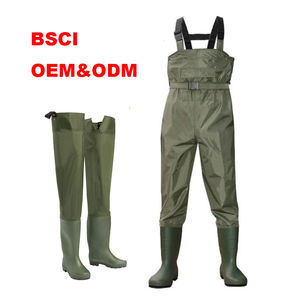 angling pants clothes chest fishing nylon wader pants 100% waterproof fishing suits outdoor fishery industry men waders