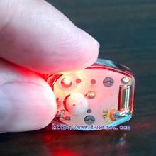 Waterproof mini LED light for decoration of shoes, clothing, bags and other application scenario