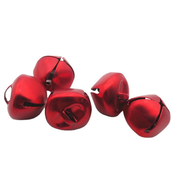 Metal iron cross bell 20MM big red