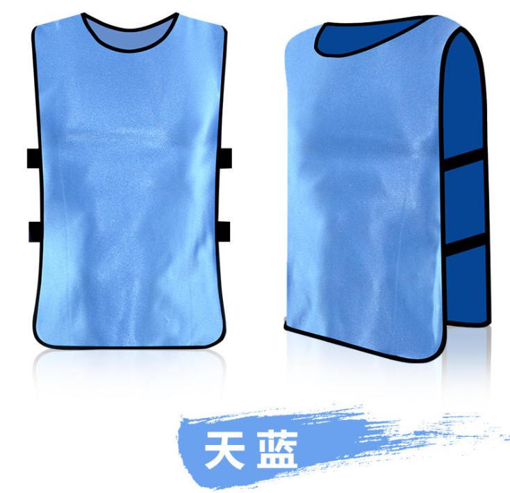 2019 Custom Omkeerbare Team Voetbal Kit Voetbal Training Vest Slabbetjes