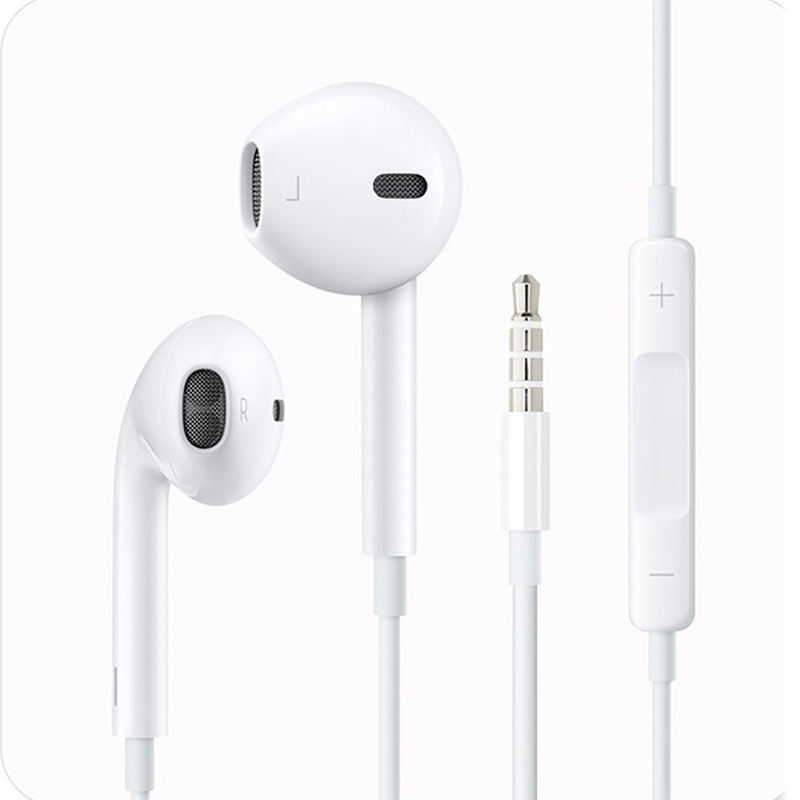 original quality in ear earpods wired headset for apple handsfree headphone 3.5mm earphones with mic for ipad iphone 5/5s/6/6s