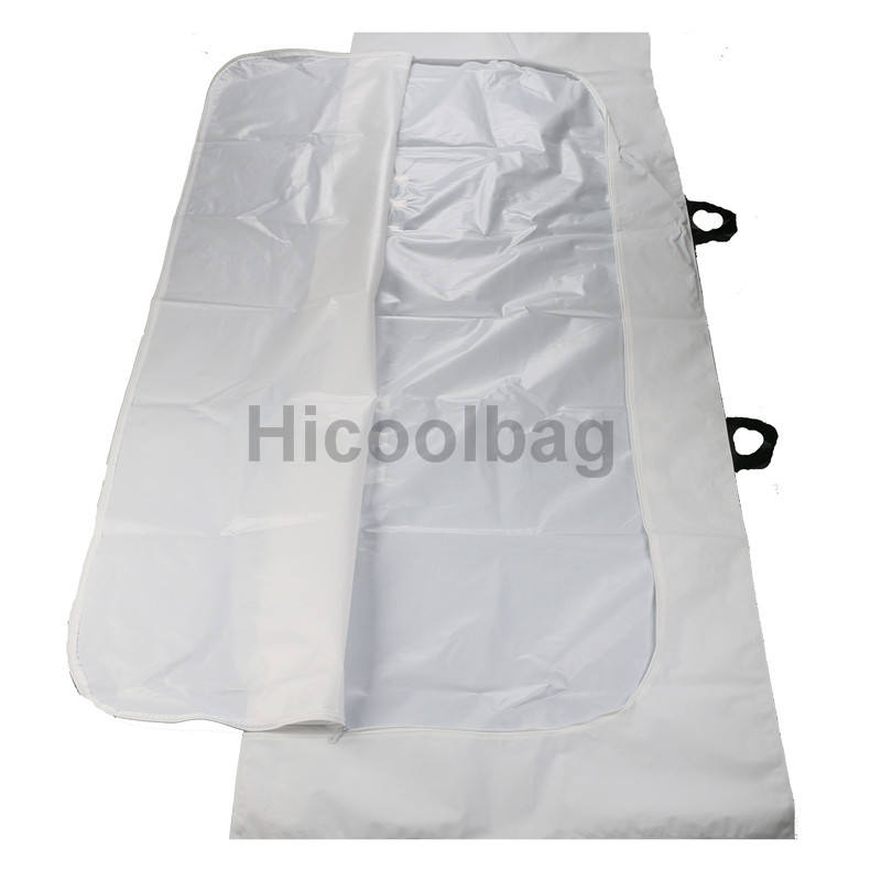 Disposable Biodegradable Leakproof Heavy Duty Customized adult children cadaver bag corpse dead body bag